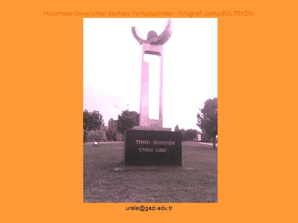 urala@gazi.edu.tr …görümsetme -clip- Another Brick in The Wall* -Pink Floyd- *http://www.youtube.com/watch?v=M_bvT-DGcWw Lütfen Görümsetmeyi -clip- İzledikten Sonra Devam Ediniz.