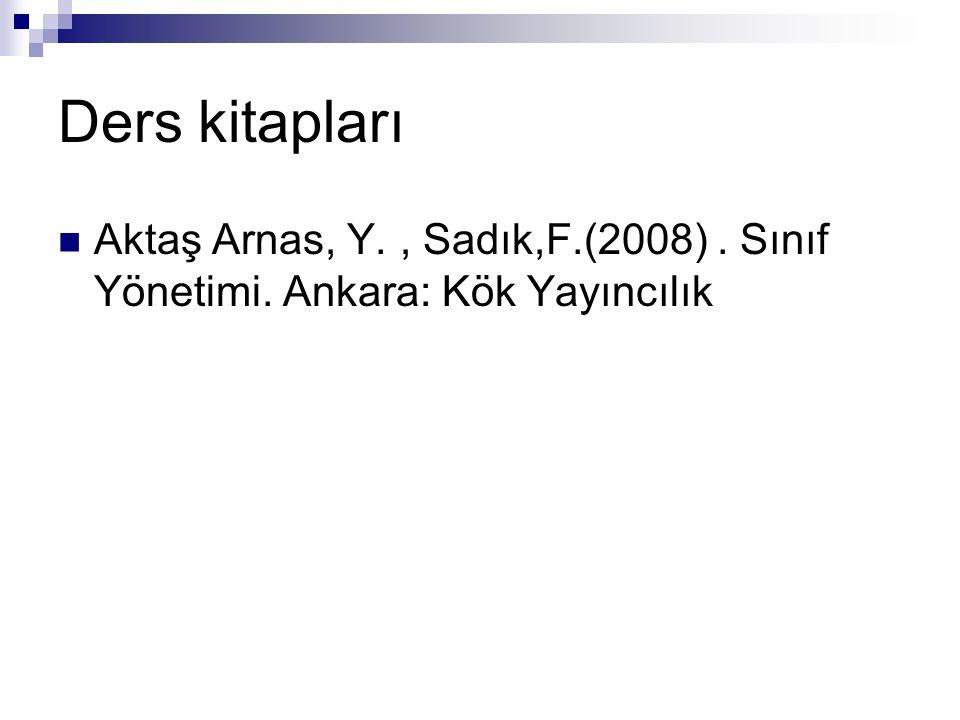 Sınıfın özellikleri Ortak amaç ve özellikleri olan bir gruptur.
