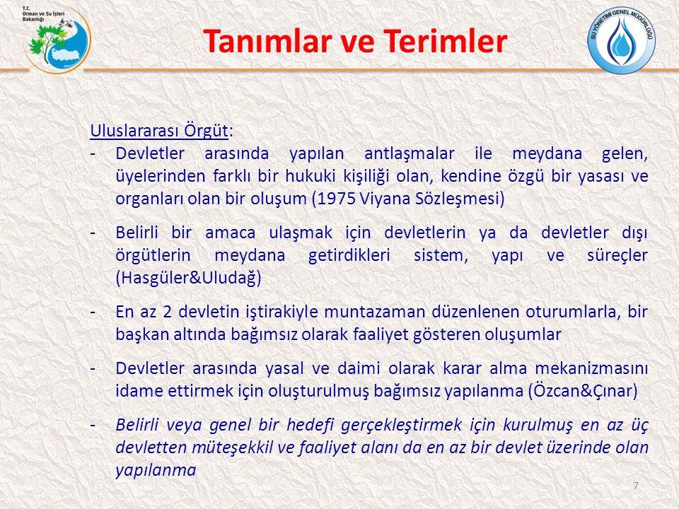 İslam İşbirliği Teşkilatı (İİT) İİT ÜLKELERİ SU VERİLERİ 58