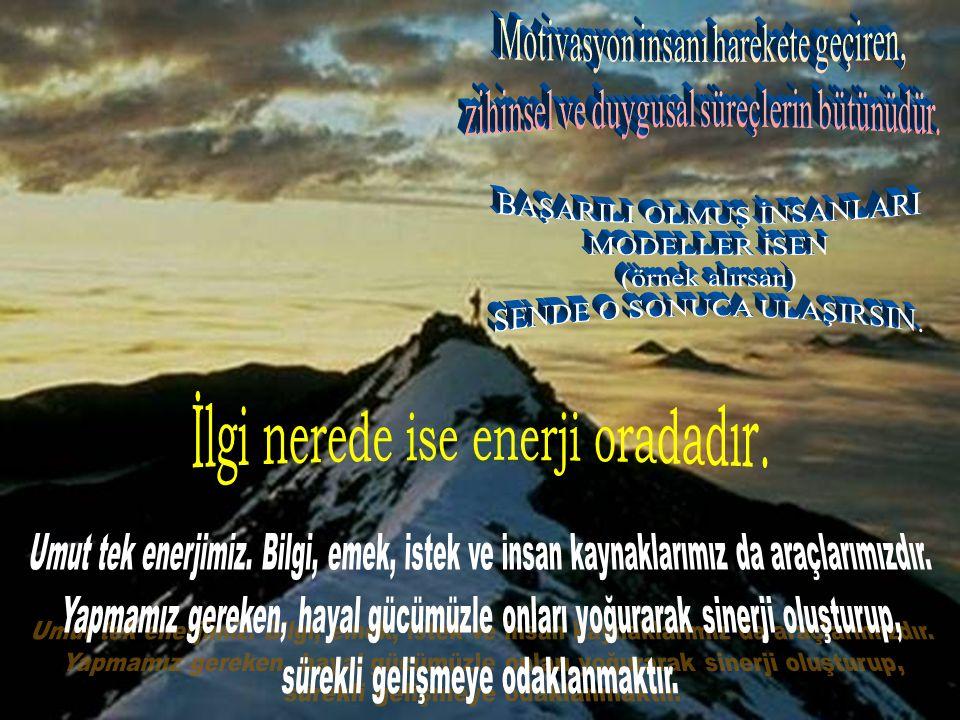KİŞİSEL GELİŞİM TEKNİKLERİ / SORUN HEP AYNI YÖNTEMLERLE, HEP AYNI SONUÇLARI ÜRETİRSİNİZ.