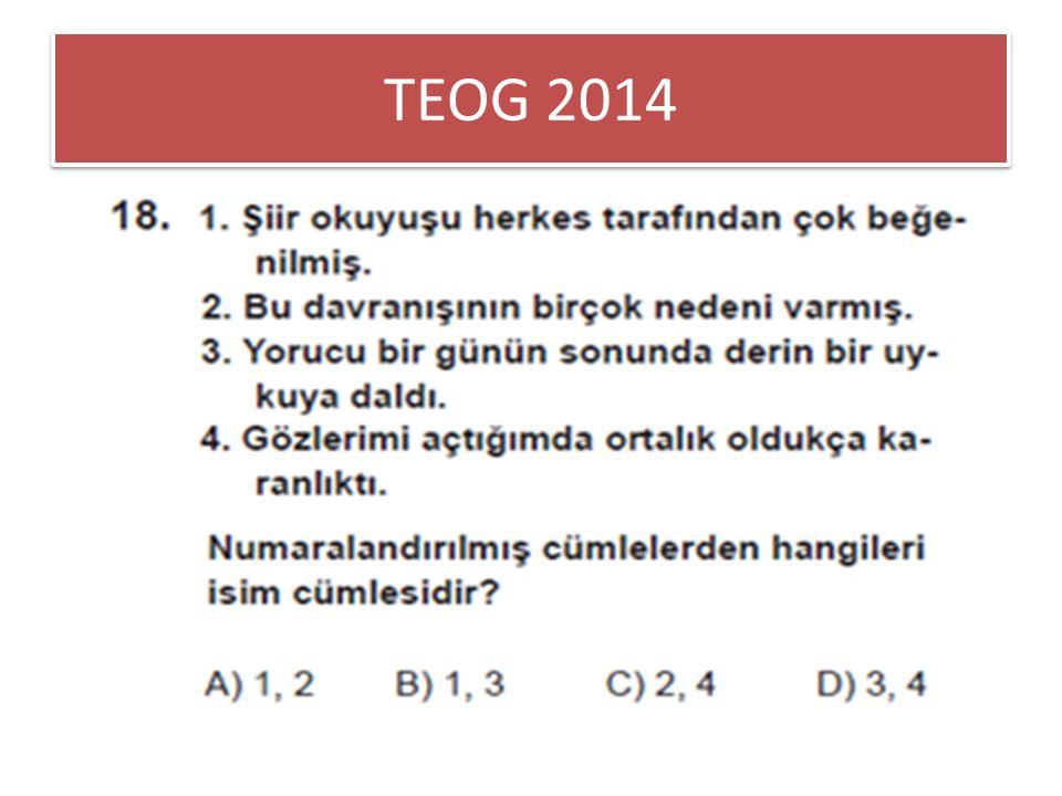 TEOG 2014