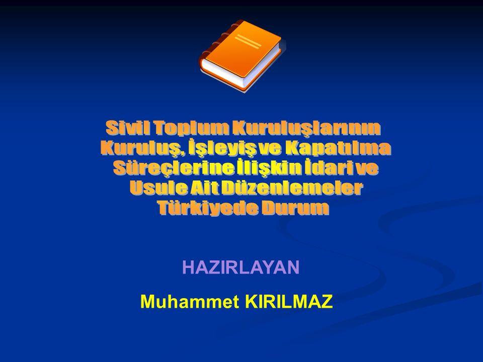 HAZIRLAYAN Muhammet KIRILMAZ