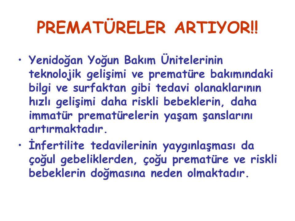 PREMATÜRELER ARTIYOR!.