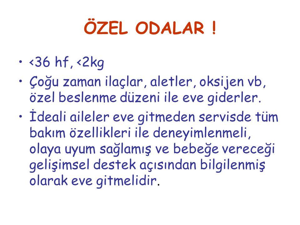 ÖZEL ODALAR .