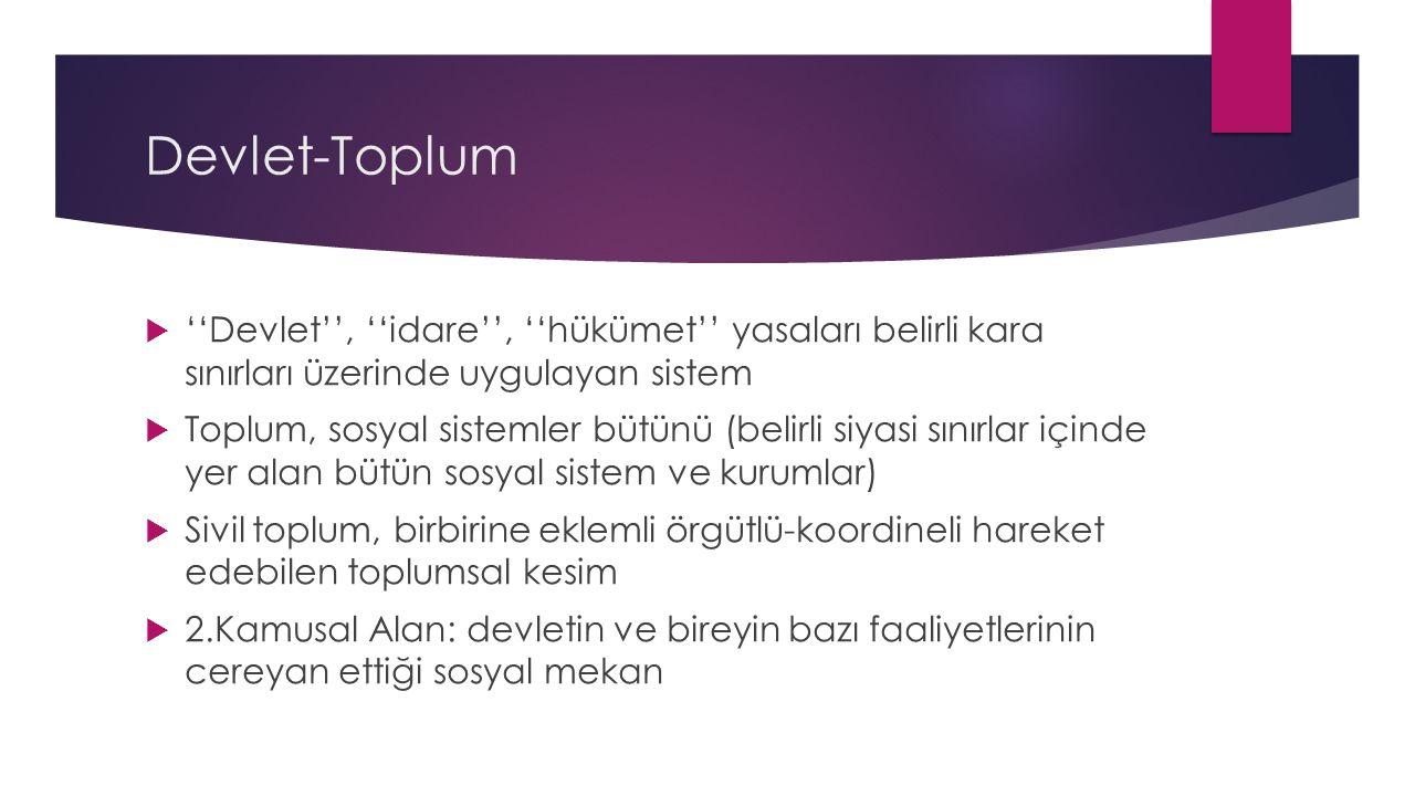 11.Türkiye de Sivil Topluma İlişkin Görüşler ve Siyasal Sisteme Yansımaları  Asaf S.