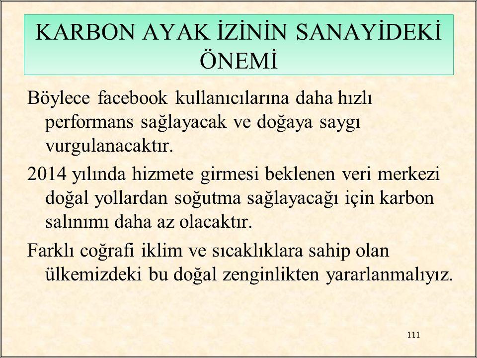 Böylece facebook kullanıcılarına daha hızlı performans sağlayacak ve doğaya saygı vurgulanacaktır. 2014 yılında hizmete girmesi beklenen veri merkezi