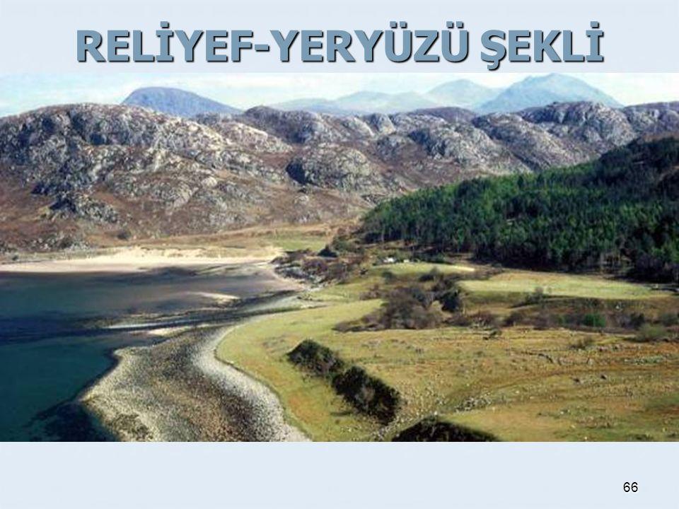 RELİYEF-YERYÜZÜ ŞEKLİ 66