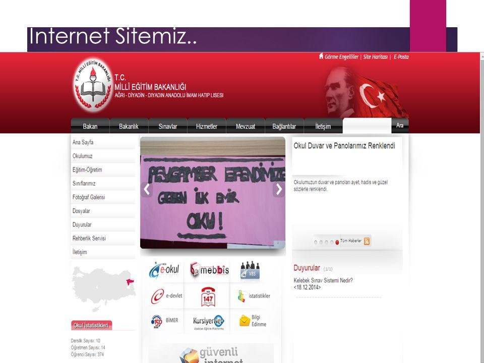 İnternet Sitemiz..