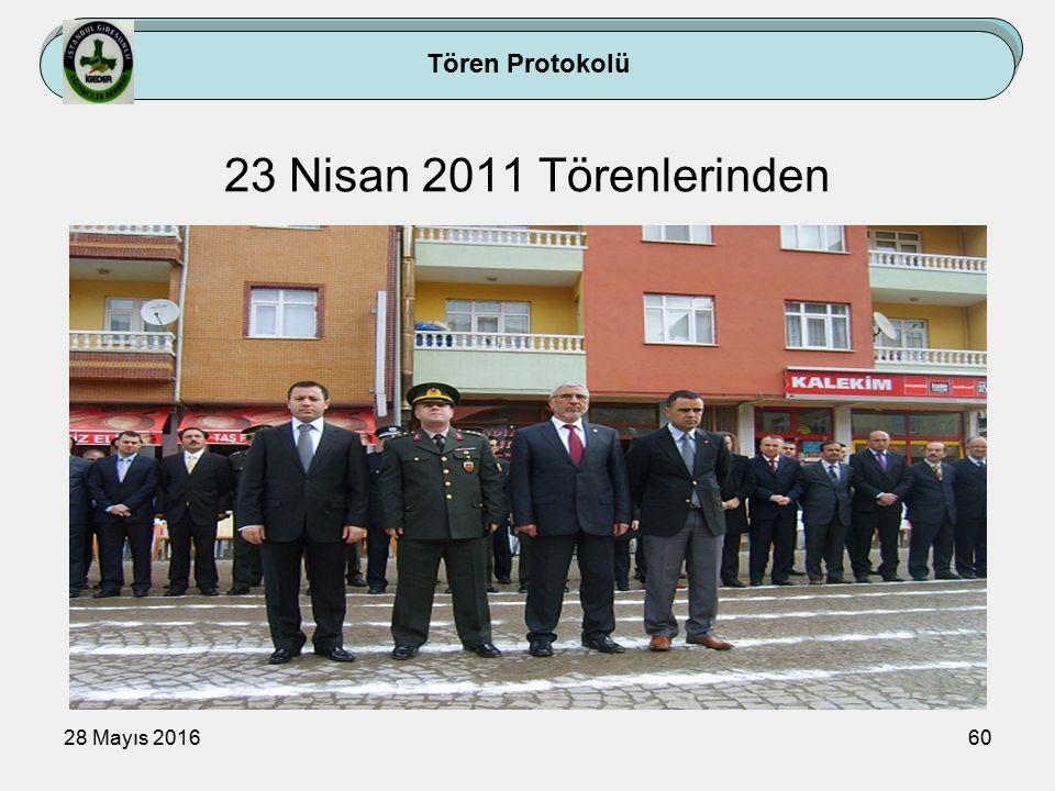 28 Mayıs 201660 Tören Protokolü 23 Nisan 2011 Törenlerinden