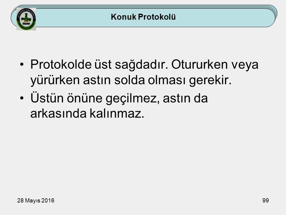 28 Mayıs 201699 Konuk Protokolü Protokolde üst sağdadır.