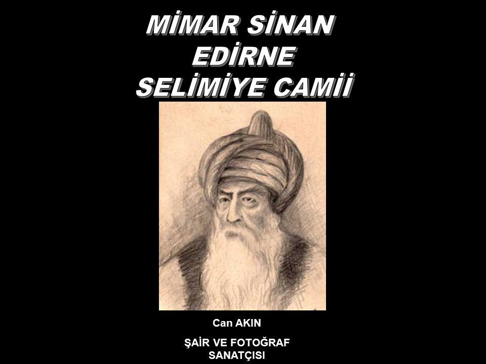 > Osmanlı padişahı ikinci Selim (1524-1574) adına Türk mimarisinin ölümsüz dehası Mimar Sinan tarafından altı yılda bitirilen ve kendisinin ustalık eserim diye iftihar ettiği Selimiye Camii birçok manevi vasıfları sembolize etmektedir.