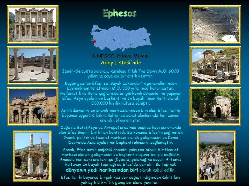 Antalya-Demre'de bulunan Kekova Adası'ndaki batık antik şehirdir. Bugün