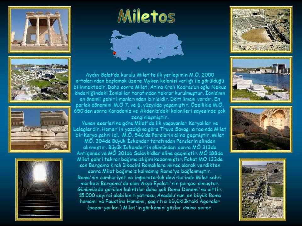 Antalya-Finike'de kurulu bir likya kentidir. Limyra, Lykia'nın en eski şehirlerinden biridir ve şehrin varlığı M.Ö. V. yüzyıldan beri bilinmektedir. L