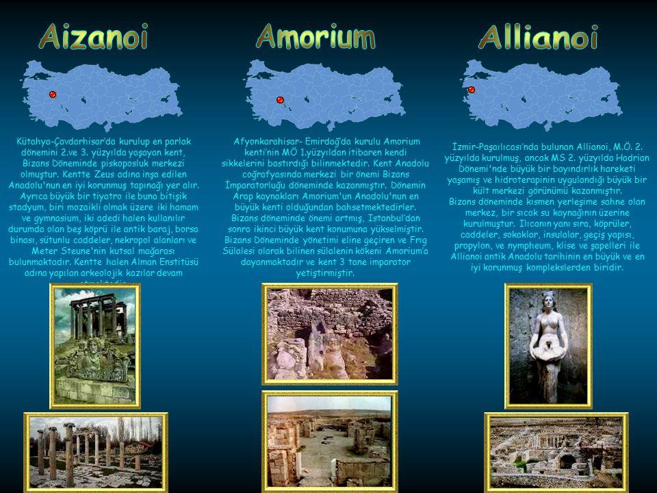 Alabanda antik kenti Aydın-Çine'de kurulmuş bir Karya kentidir. Sanat yönünden yörenin kentleri arasında ayrıcalığı, üstünlüğü olduğu bilinmektedir. K