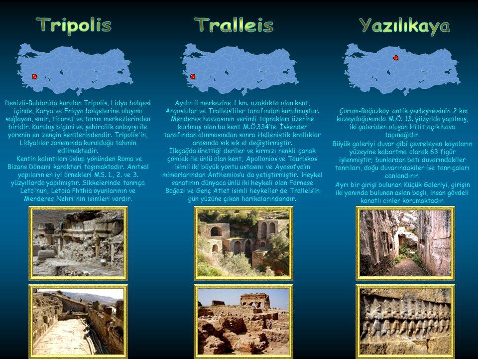 Çanakkale'de bulunan Truva, dünyadaki en ünlü antik kentlerden biridir. Truva'da görülen 9 katman, kesintisiz olarak 3000 yıldan fazla bir zamanı göst