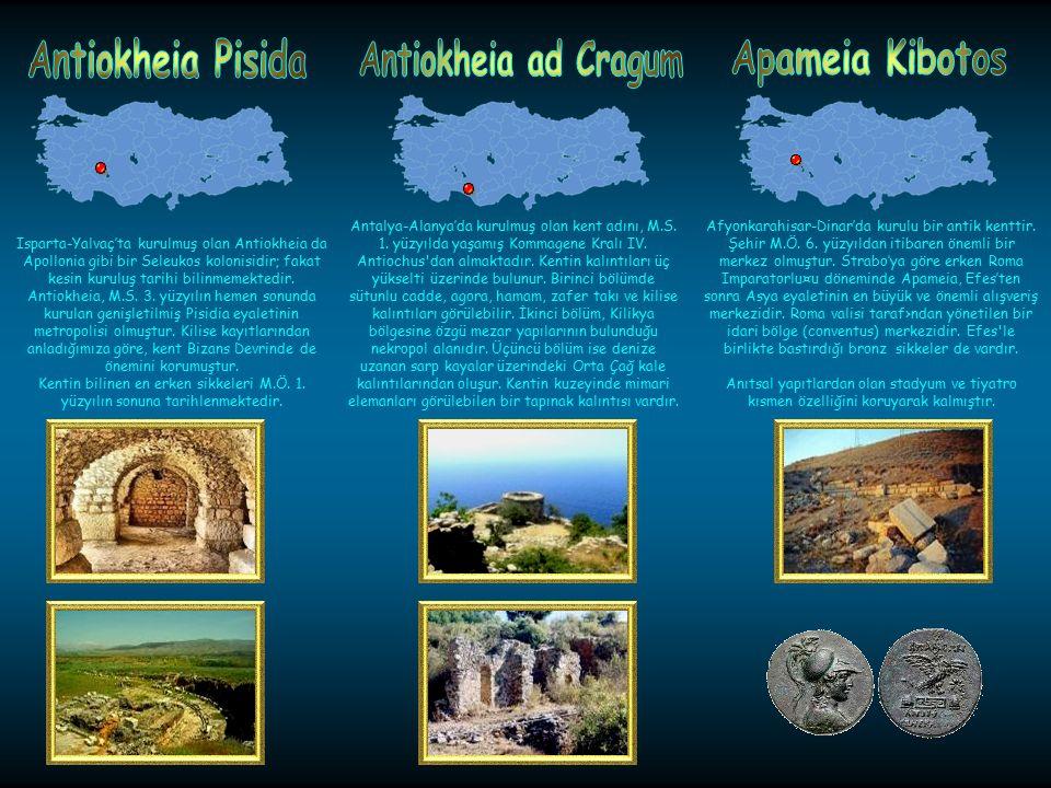 Adana-Kozan'da kurulu kentin Roma İmparatorluk Devri öncesi tarihi hakkında hemen hemen hiç bir bilgimiz yoktur. Anavarzada; 1500 metre uzunluğunda 20