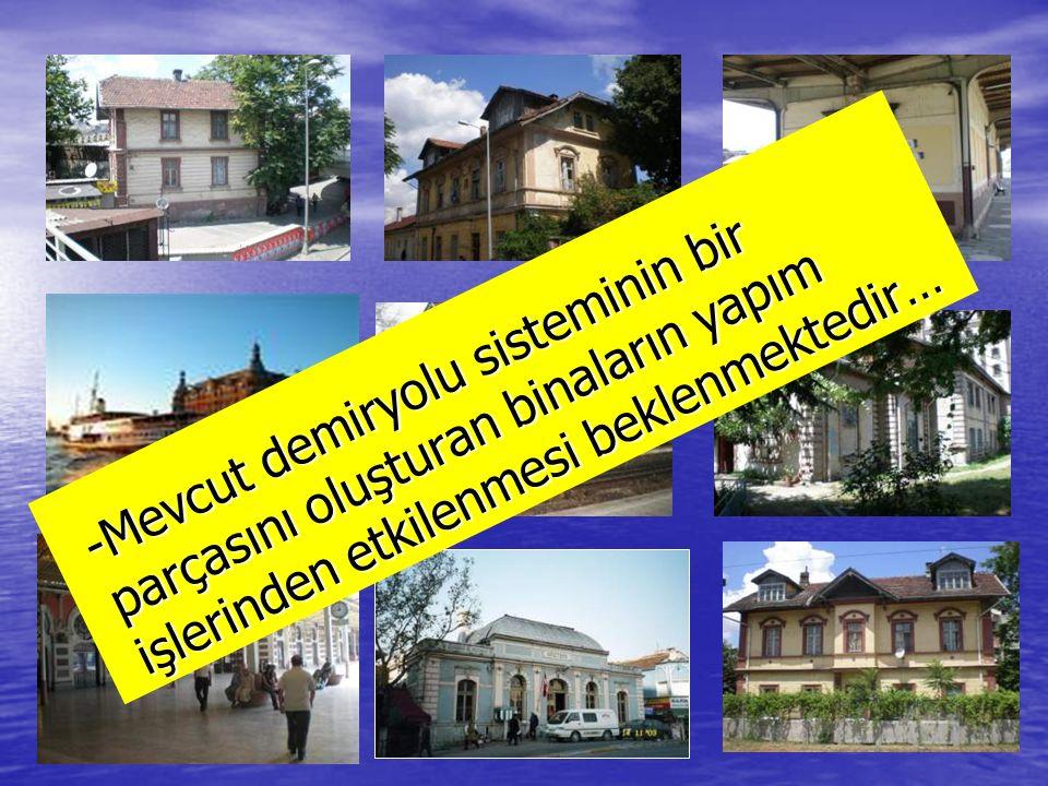 -Marmaray Projesi, yapım işlerinden etkilenecek evlerin çok sınırlı sayıda tutulabilmesi için gereken şekilde planlanmıştır…