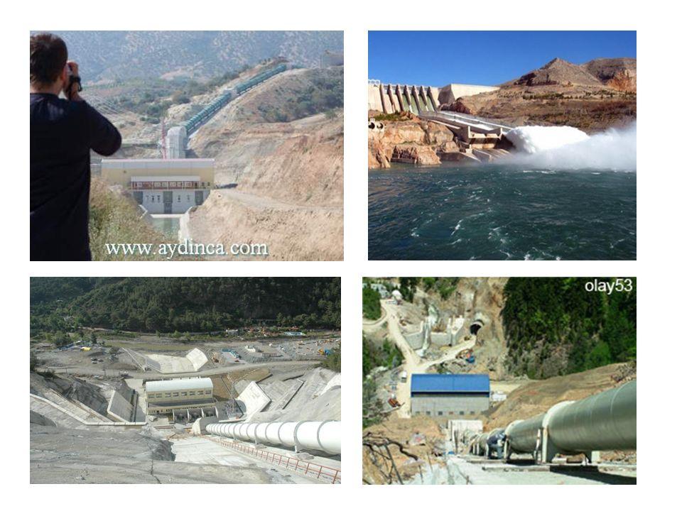 DSİ ve EİEİ tarafından bazı istasyonlarda yapılan ölçümlere göre; Dicle Nehri-Cizre 26,7 milyon ton Fırat-Dutluca 16,8 milyon ton Kızılırmak-İnözü 15,7 milyon ton Murat-Palu 15,1 milyon ton Çoruh-Karşıköy 7,8 milyon ton Kelkit-Faklı 6,9 milyon ton sediment taşımaktadır.