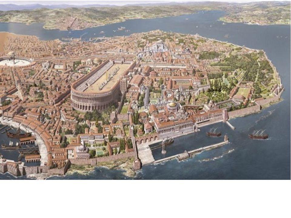 KUBBELİ BAZİLİKALAR Bizans mimarisi iki ayrı tipi, bazilika ve merkezi planı birleştirerek yeni bir mekan yaratmaktan da geri kalmamış, bunun sonucunda 5.