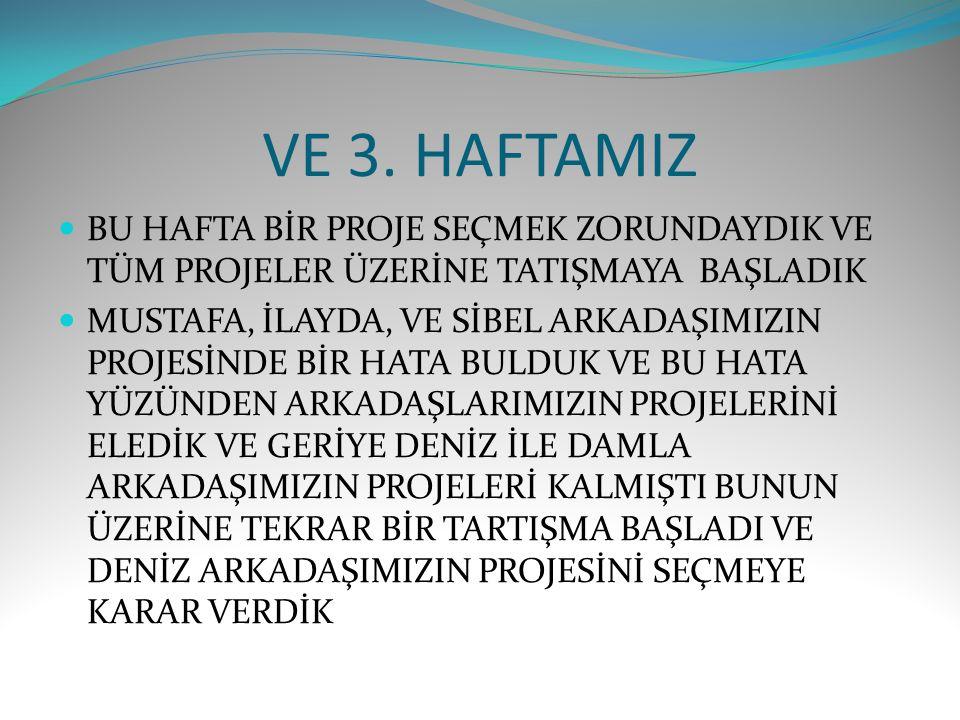 GRUP GÜNLÜĞÜ 2.