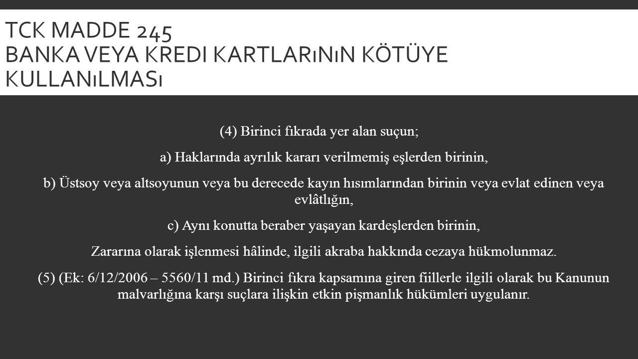 TCK MADDE 124 HABERLEŞMENIN ENGELLENMESI (1) Kişiler arasındaki haberleşmenin hukuka aykırı olarak engellenmesi halinde, altı aydan iki yıla kadar hapis veya adlî para cezasına hükmolunur.
