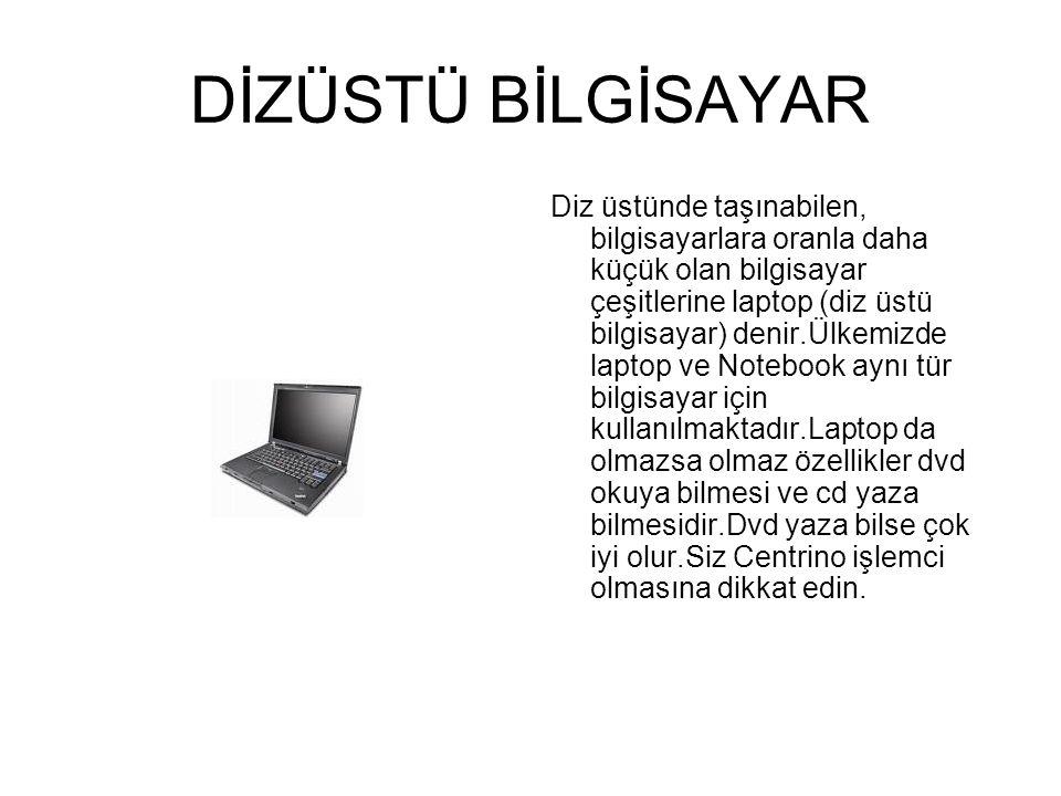 MASAÜSTÜ BİLGİSAYAR (DESKTOP) Masaüstü bilgisayar (Desktop) resmi