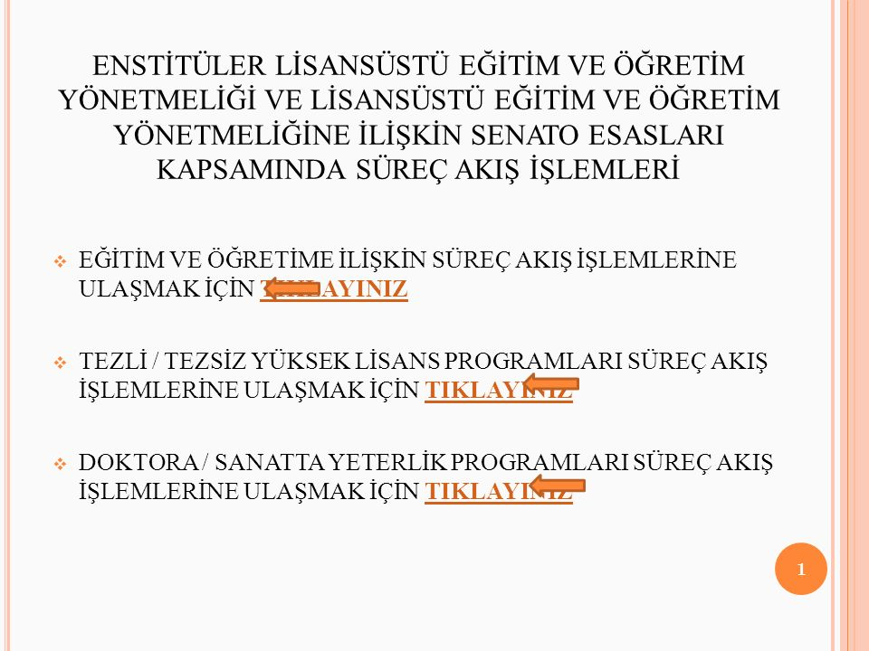 TEZ ÖNERİSİ SAVUNMA SINAVI 62 A.Ü.LİSANSÜSTÜ YÖNETMELİĞİNİN 51.