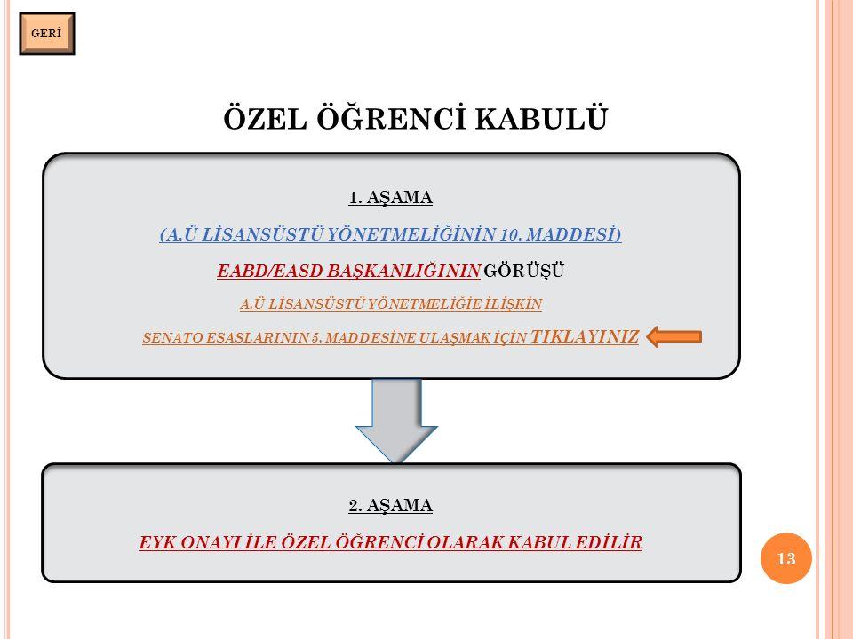 ÖZEL ÖĞRENCİ KABULÜ 13 GERİ