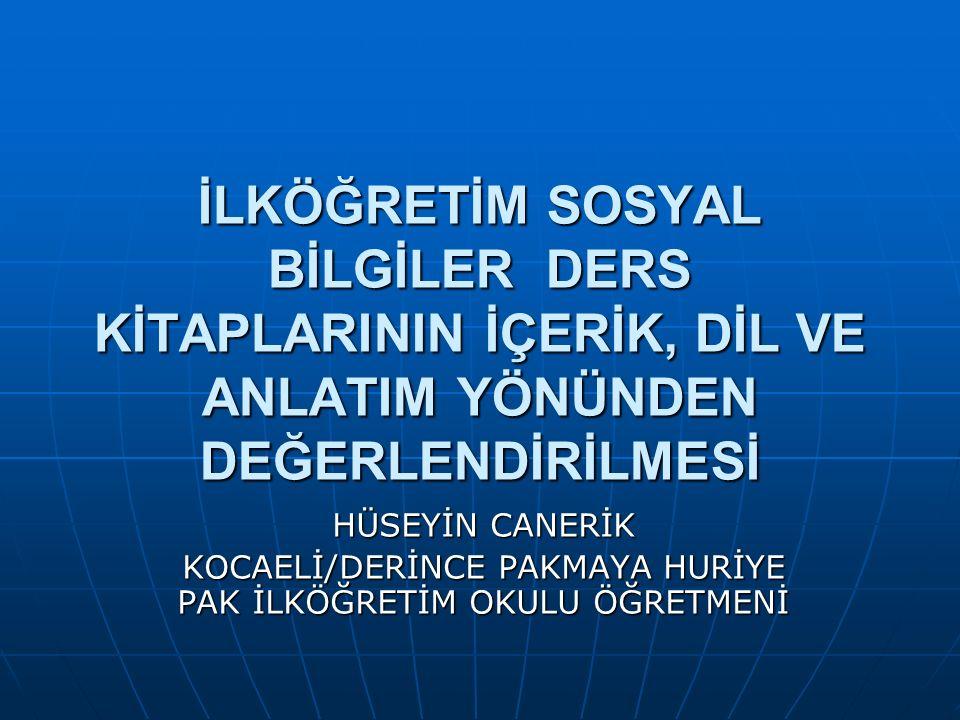 Bu bildiri, 7-9 Ekim 2009 tarihlerinde Marmara Üniversitesi Atatürk Eğitim Fakültesi ile MEB Öğretmen Yetiştirme Genel Müdürlüğünün ortaklaşa düzenlediği 4.