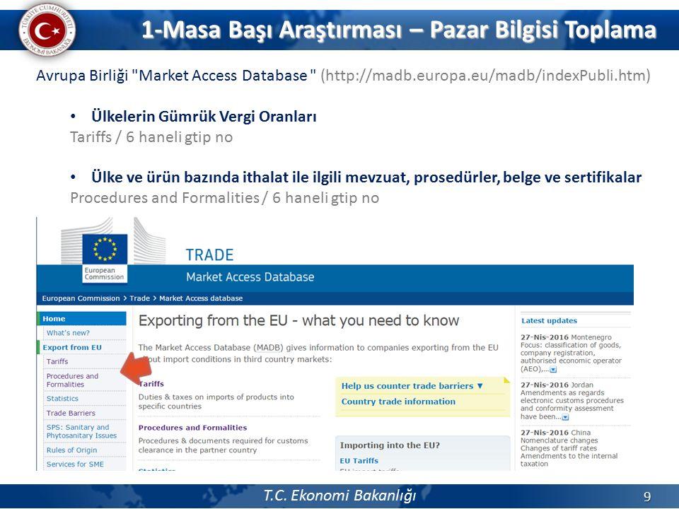 T.C. Ekonomi Bakanlığı 9 Avrupa Birliği