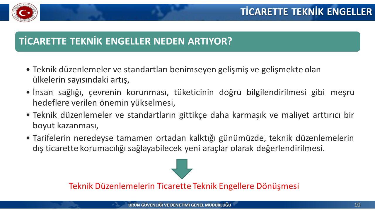 TİCARETTE TEKNİK ENGELLER NEDEN ARTIYOR.