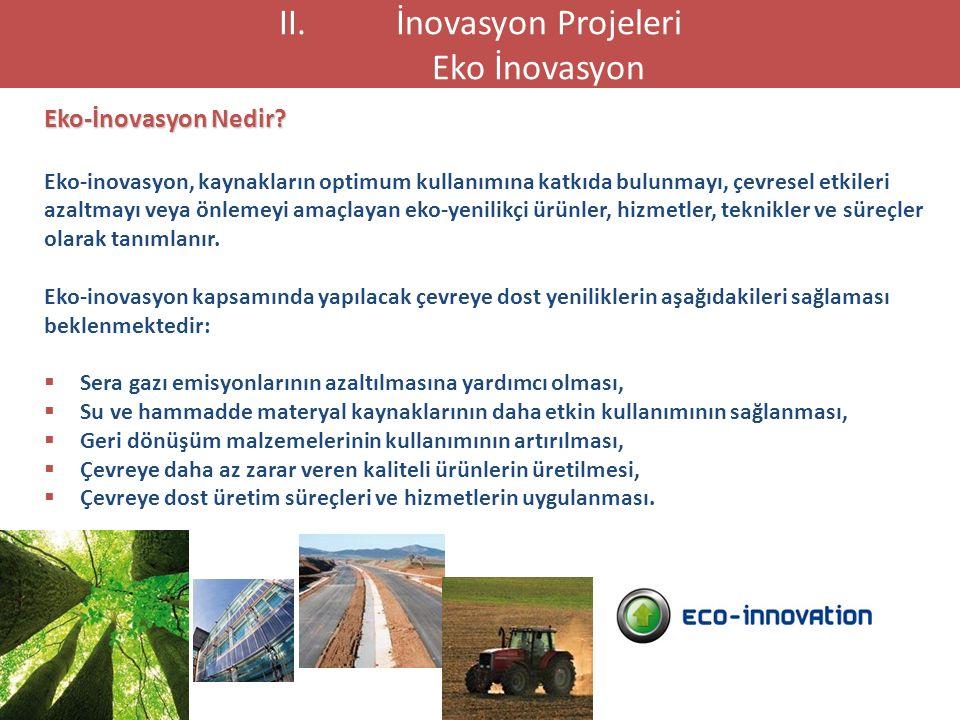 Eko-İnovasyon Nedir? Eko-inovasyon, kaynakların optimum kullanımına katkıda bulunmayı, çevresel etkileri azaltmayı veya önlemeyi amaçlayan eko-yenilik