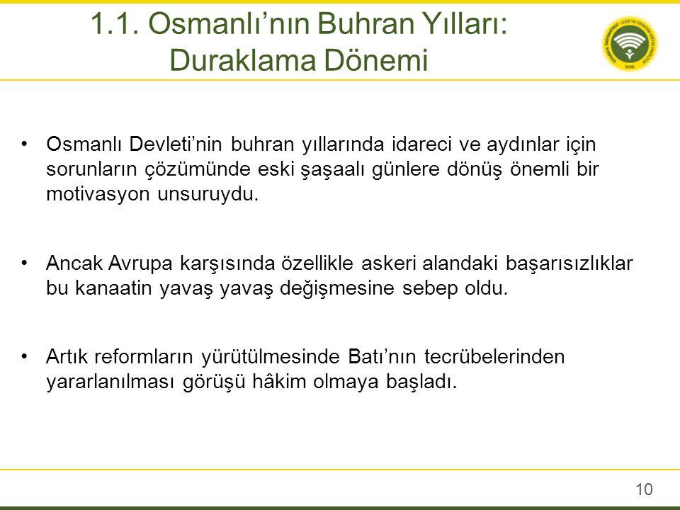 Harita 1: Duraklama Döneminde Osmanlı Devleti (Unat (1989), s.