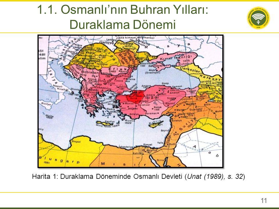 Osmanlı'da Derileme Devri 1699 Karlofça Antlaşması'yla başlatılır; III.