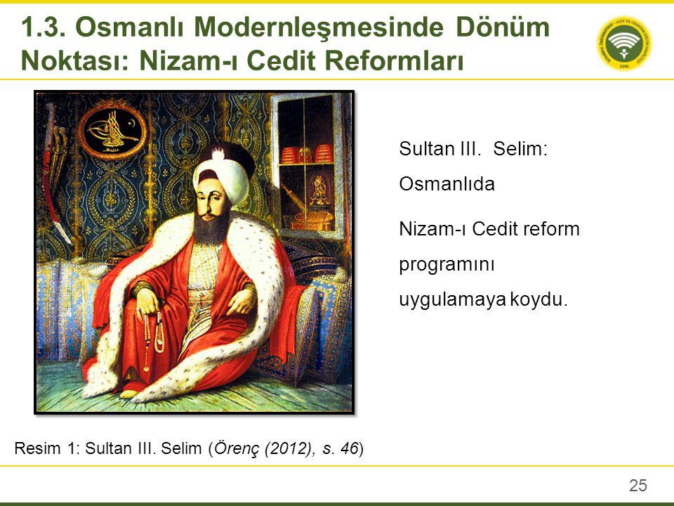 III.Selim, Ziştovi Antlaşması'nın imzalanmasından hemen sonra yenileşme hareketine hız vermiştir.