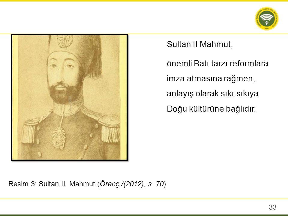 Sultan bir taraftan da askeri yenilikleri sürdürmek istiyordu.