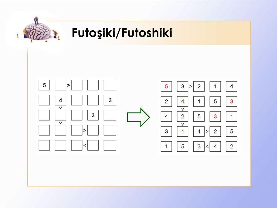 Futoşiki/Futoshiki