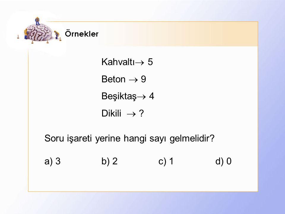 Örnekler Kahvaltı  5 Beton  9 Beşiktaş  4 Dikili  .