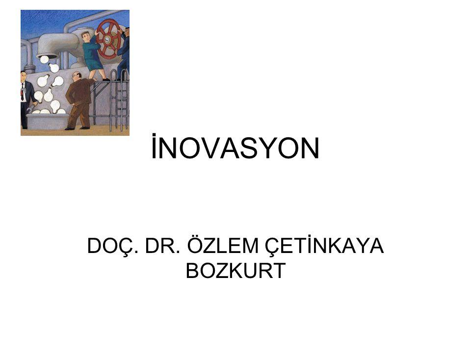 İNOVASYON DOÇ. DR. ÖZLEM ÇETİNKAYA BOZKURT