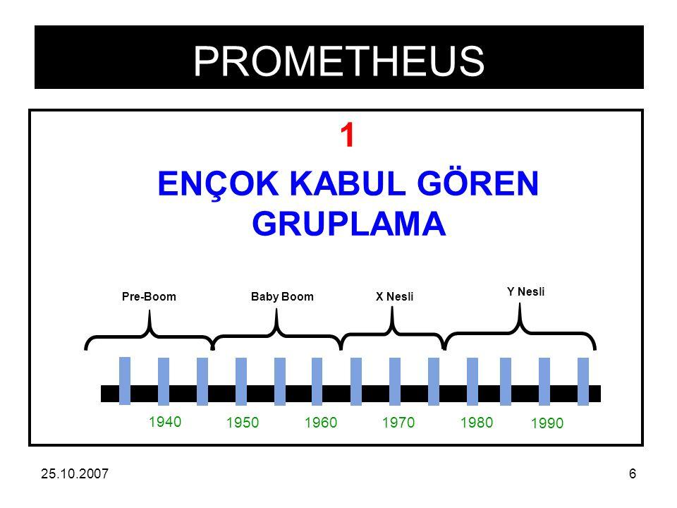 PROMETHEUS 25.10.200717  B3 NESİLLERİ ANLAMAK ( understand of each generation )