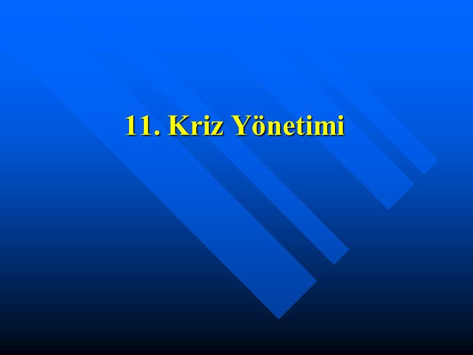 11. Kriz Yönetimi