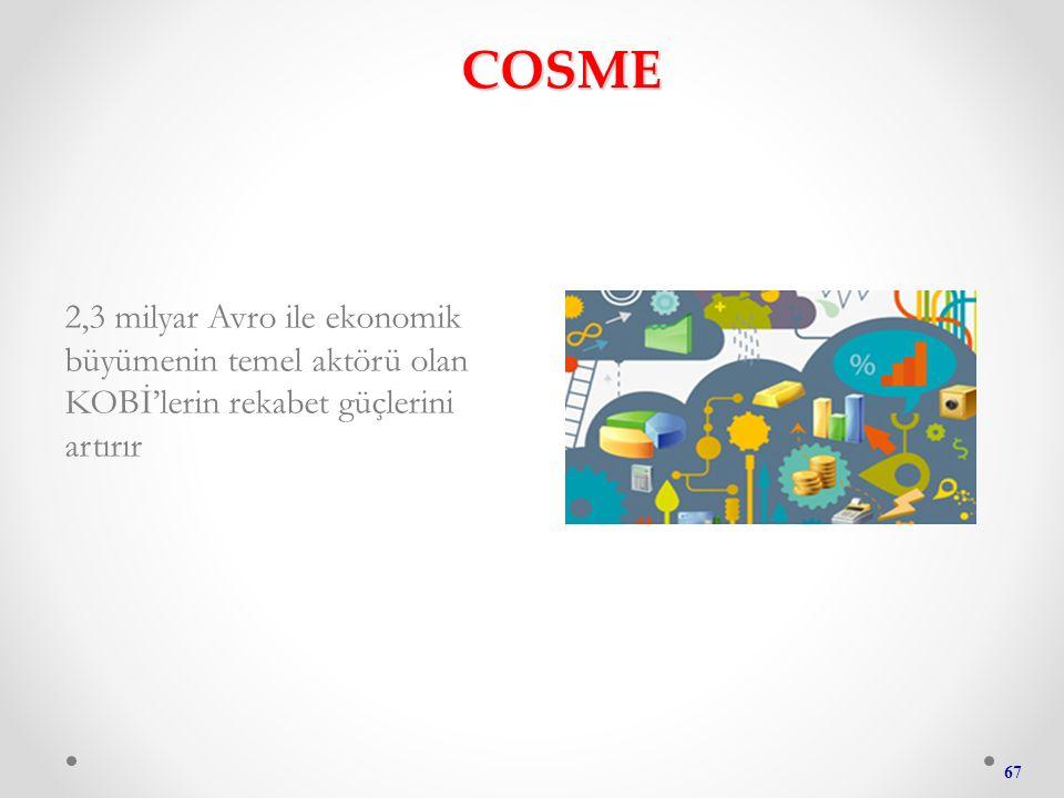 COSME 2,3 milyar Avro ile ekonomik büyümenin temel aktörü olan KOBİ'lerin rekabet güçlerini artırır 67