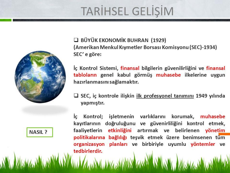 KAMU İÇ KONTROL STANDARTLARI RİSK DEĞERLENDİRME 5.