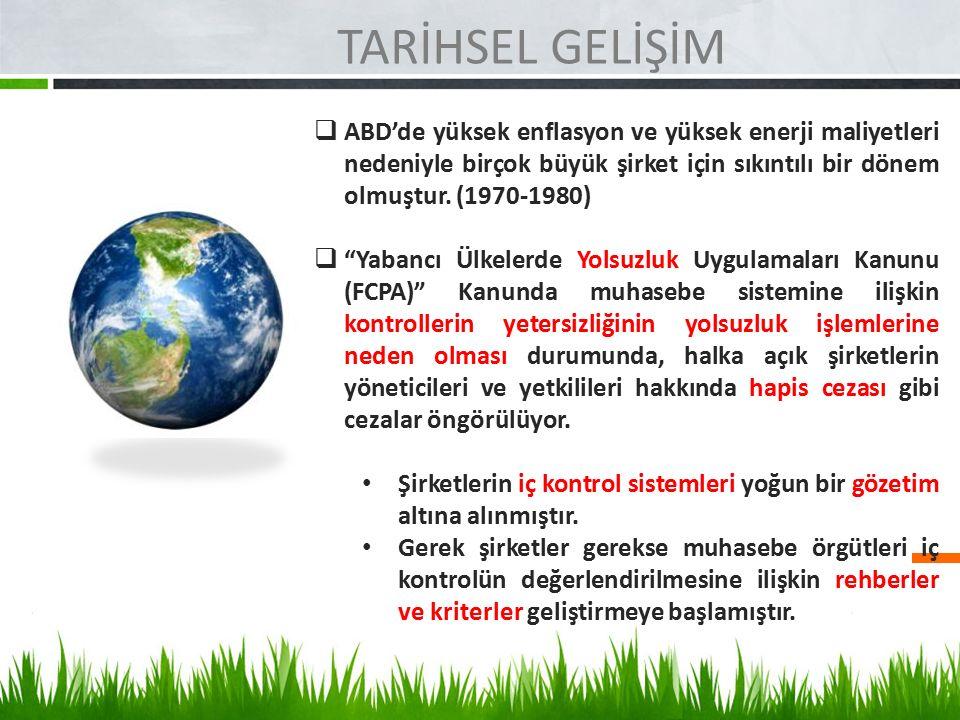 KAMU İÇ KONTROL STANDARTLARI RİSK DEĞERLENDİRME 6.