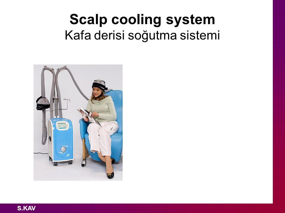 Scalp cooling system Kafa derisi soğutma sistemi S.KAV