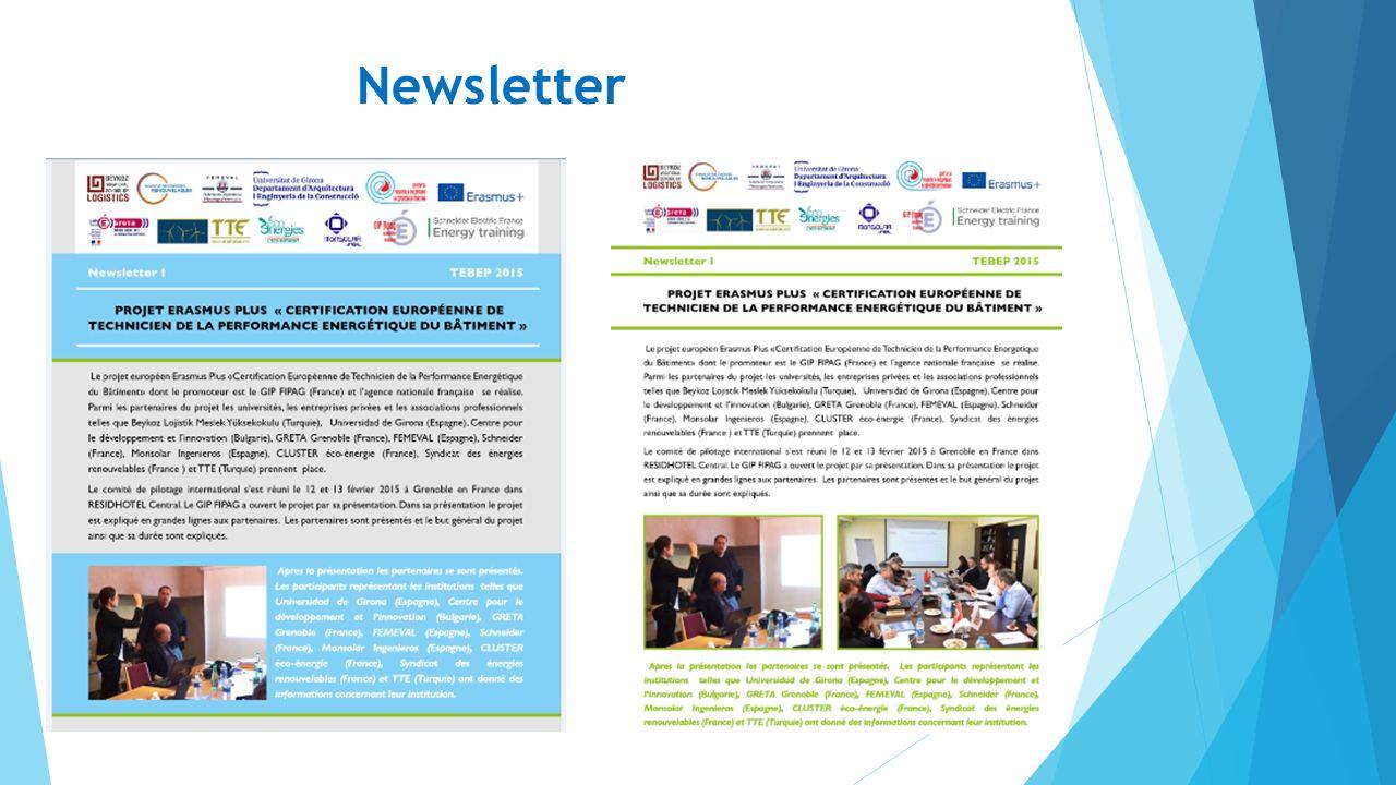 Newsletter 28.05.2016TEPEB- İnşaat Sektöründe Enerji Performans Teknisyeni Avrupa Sertifikası