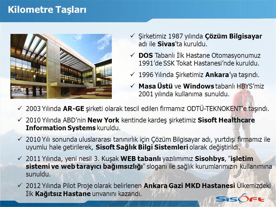 2003 Yılında AR-GE şirketi olarak tescil edilen firmamız ODTÜ-TEKNOKENT'e taşındı. 2010 Yılında ABD'nin New York kentinde kardeş şirketimiz Sisoft Hea