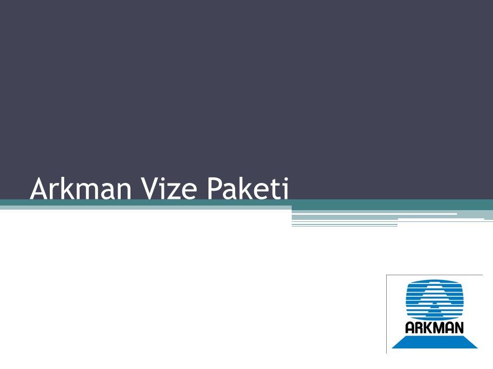 Arkman Vize Paketi