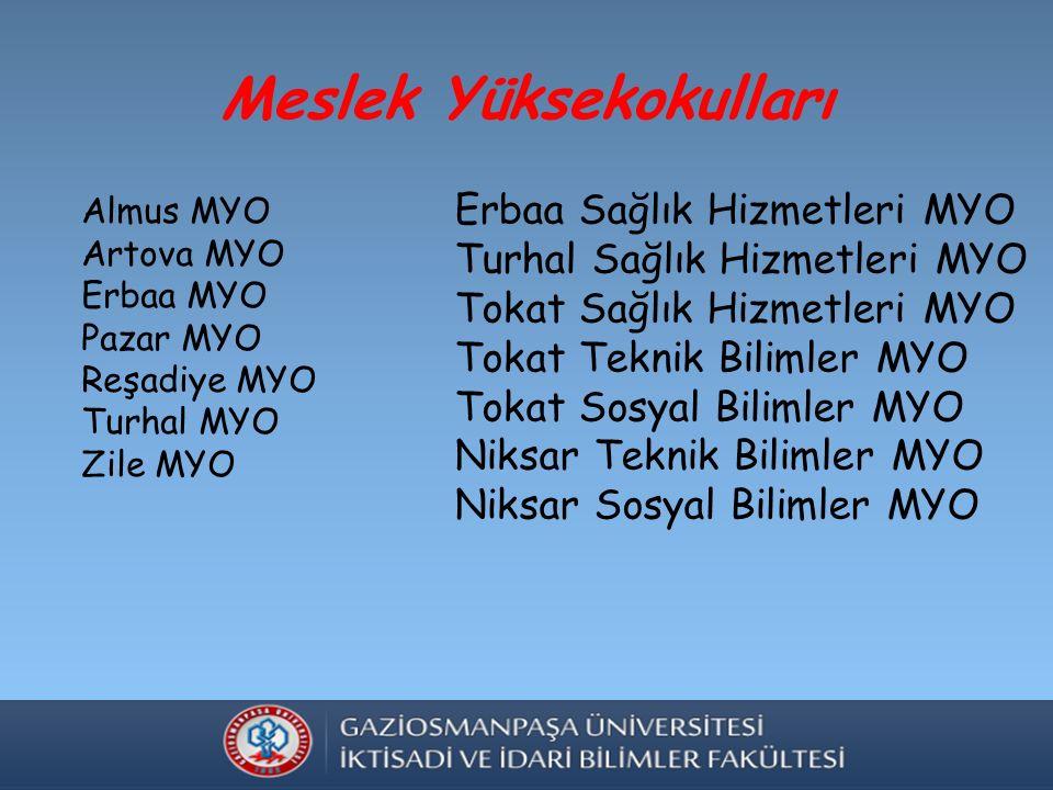 Sayılarla Üniversitemiz 30.557 Öğrenci 1.130 Akademik Personel 1.015 İdari Personel