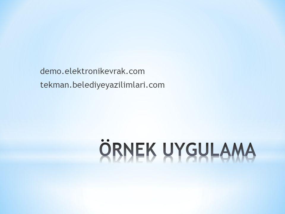 demo.elektronikevrak.com tekman.belediyeyazilimlari.com